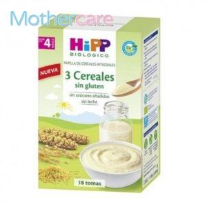 Compra  hipp papilla 3 cereales para tu bebé