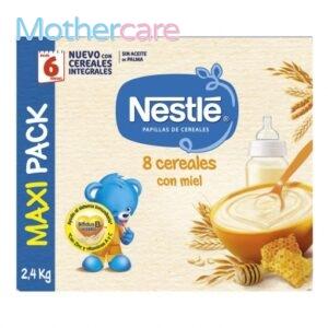 Compra  papilla 8 cereales miel para tu bebé