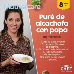 Compra  papilla alcachofa bebé para tu pequeño