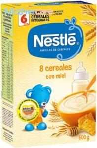 Los 7 Mejores marcas papilla 8 cereales miel para tu niño