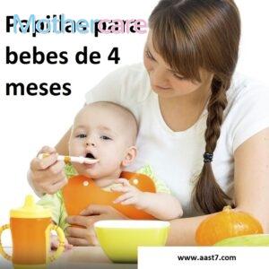 Los Mejores papilla saludables bebé 4 meses para tu bebé